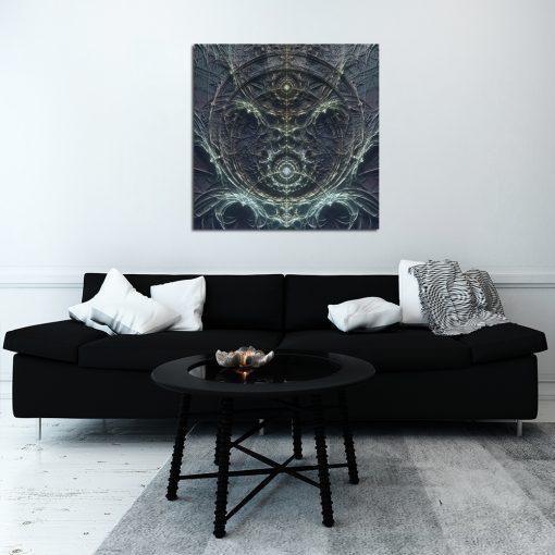 Obraz abstrakcyjny do salonu