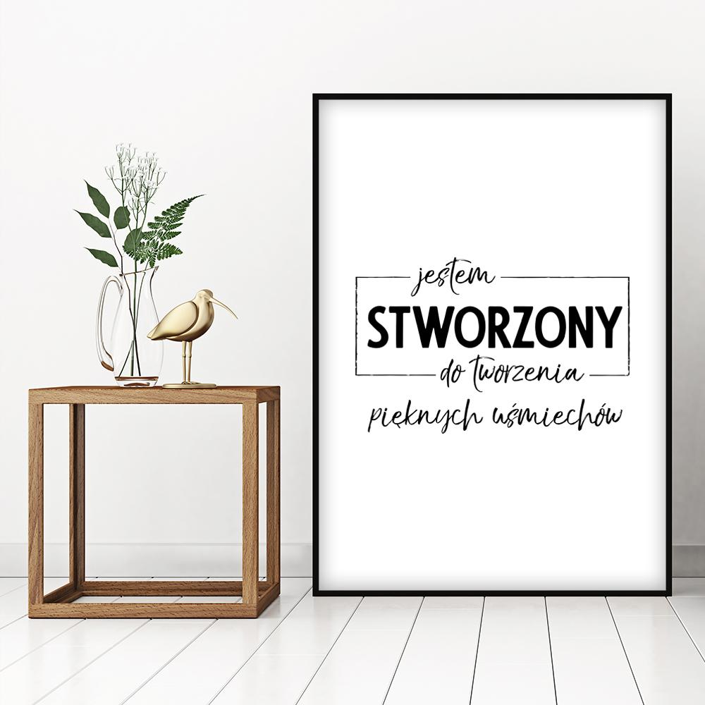 Plakat Typograficzny Dla Stomatologa