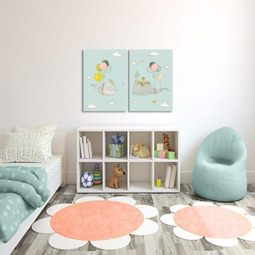 Obraz w zestawie do pokoju dziecięcego