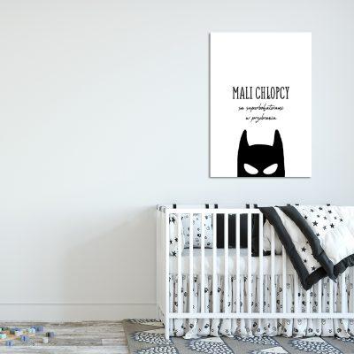 plakat dla chłopca