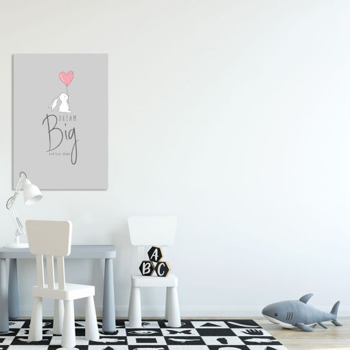 Obraz z motywem króliczka do pokoju dziecięcego