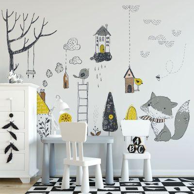 Fototapeta na ścianę do pokoju dziecka