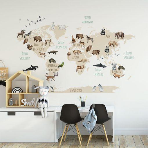 Fototapeta w kolorze sepii do pokoju dziecięcego