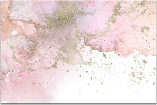 Różowy obraz abstrakcyjny