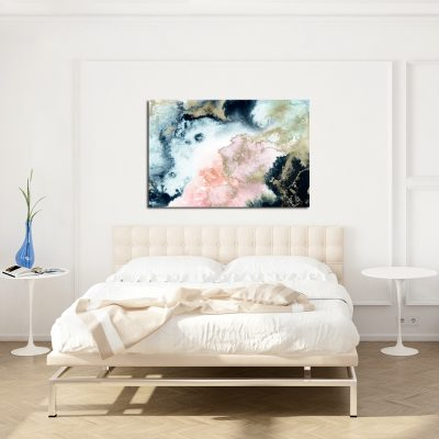 Akwarelowy obraz do sypialni