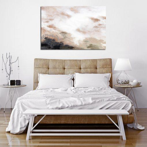 Obraz z marmurem do sypialni
