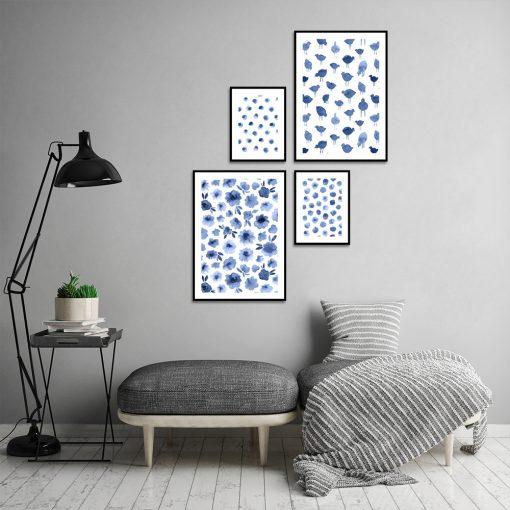 Wzorzyste plakaty do salonu