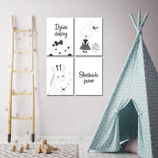 Plakaty z motywem dziecięcym
