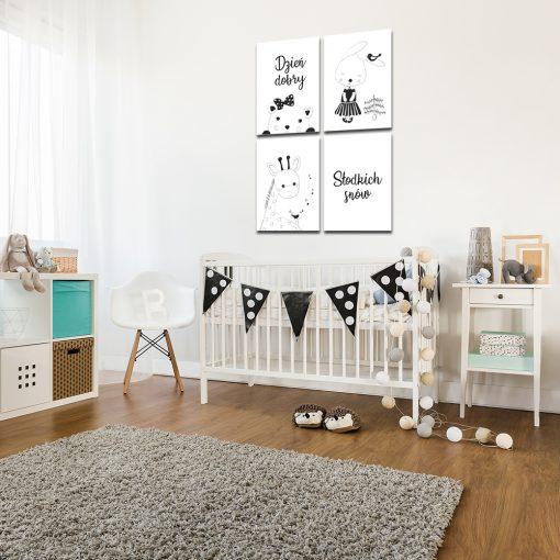 Zestaw plakatów do dekoracji pokoju dziecka