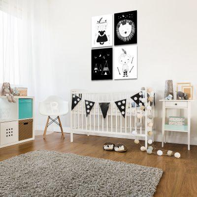 Zestaw plakatów do pokoju dziecka