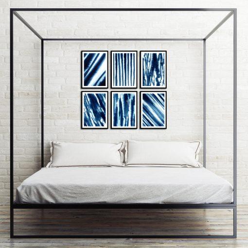 motyw plakatów w sypialni
