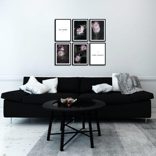 plakaty jako motyw zestawu