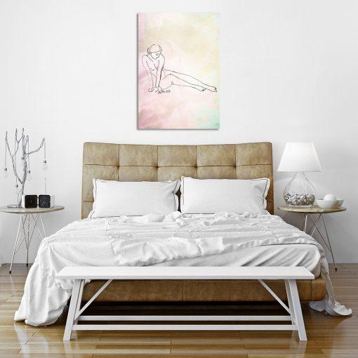 Plakat do dekoracji sypialni