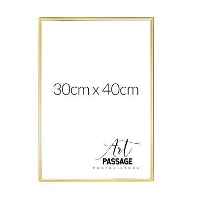 złota rama na plakaty 30x40