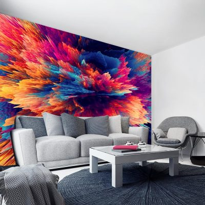 kolorowy wzór jako tapeta