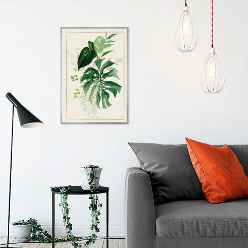 tropiki na plakacie