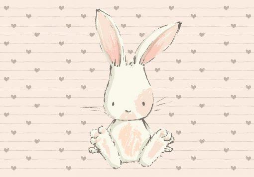 dekoracja z królikiem