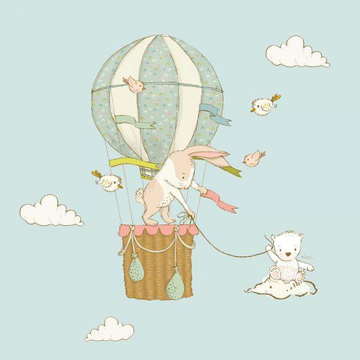 tapeta z balonem