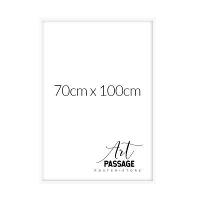biała rama na plakat 70x100