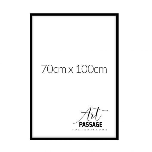 czarna rama na plakat 70x100
