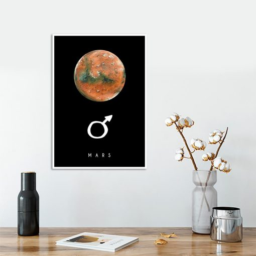 Plakat z Marsem