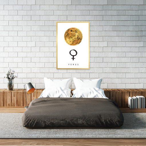 Plakat symbol kobiety