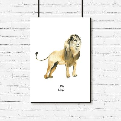 Plakat lew