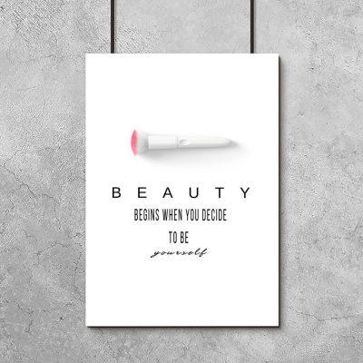Plakat beauty