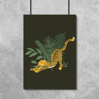 Plakat gepard