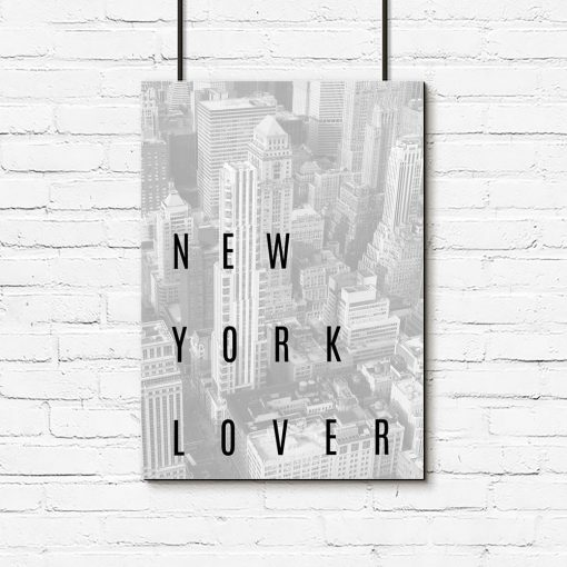Plakat z Nowym Jorkiem