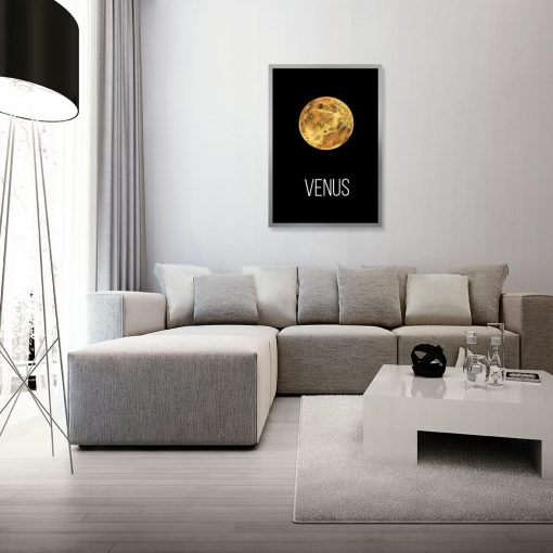 Plakat planeta Wenus
