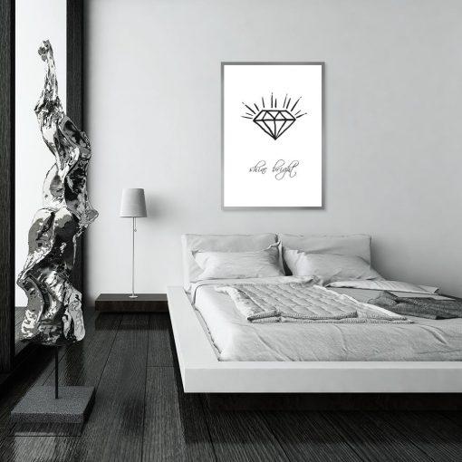 Plakat do upiększenia sypialni