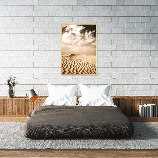 Plakat z motywem pustyni