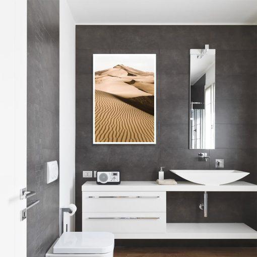 Plakat pustynia