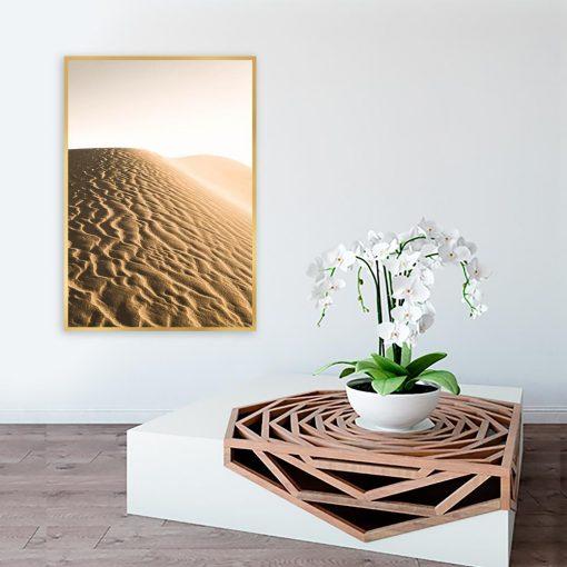Plakat z motywem piasku