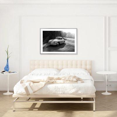 Plakat stary samochód