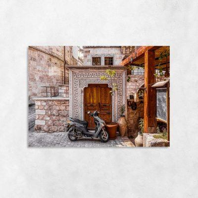 Obraz śródziemnomorska architektura