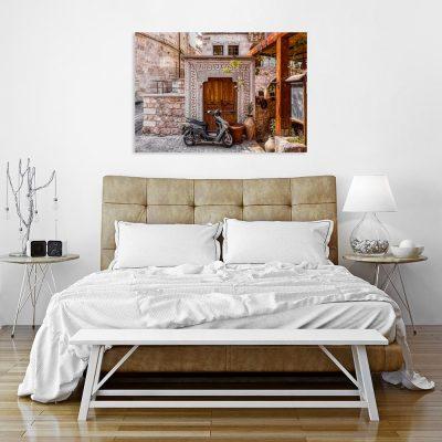 Obraz motyw śródziemnomorskiej architektury