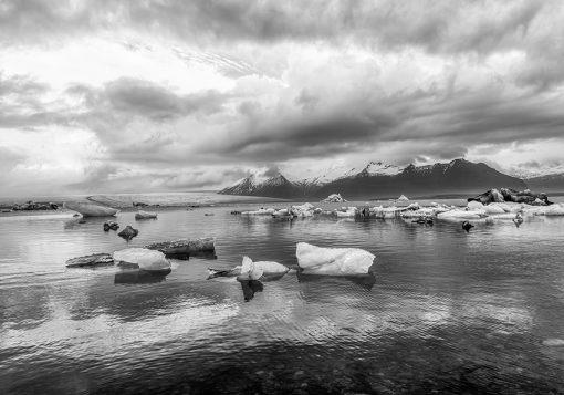 Tapeta lodowce i góry
