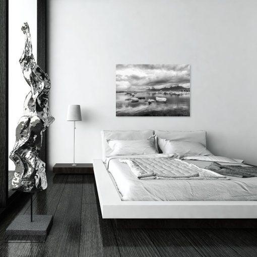 Obraz czarno-biały krajobraz