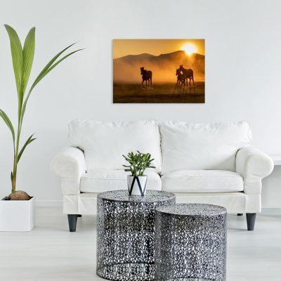 Obraz motyw koni