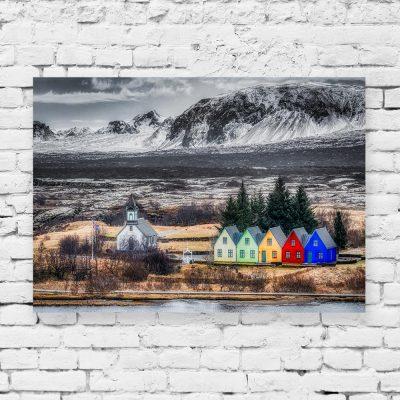 Obraz z motywem Islandii