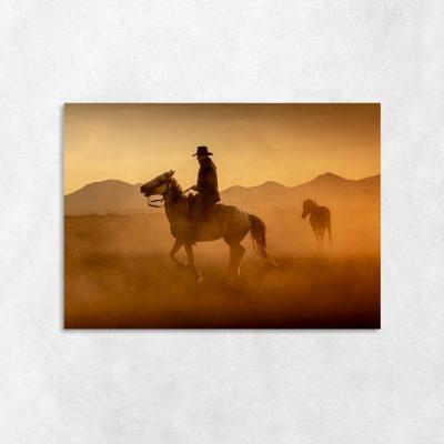 Obraz dziki zachód