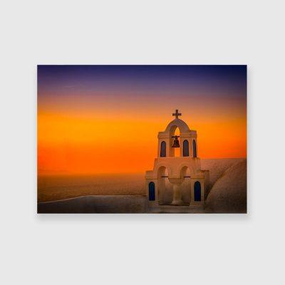 Obraz motyw Santorini