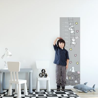 miarka wzrostu do pokoju dziecięcego