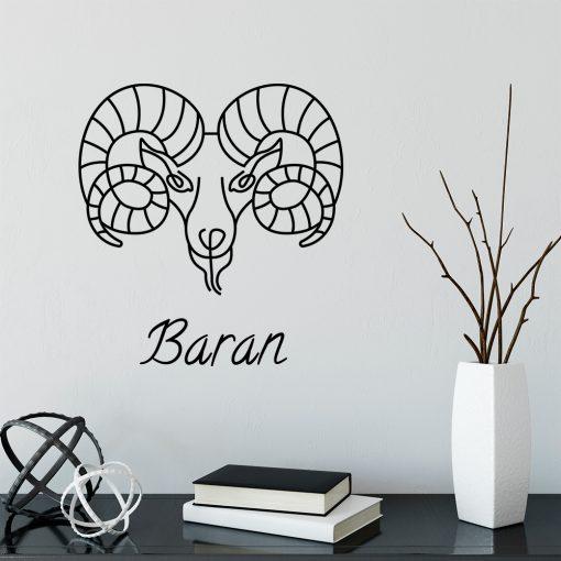 Ornament ścienny zodiak barana