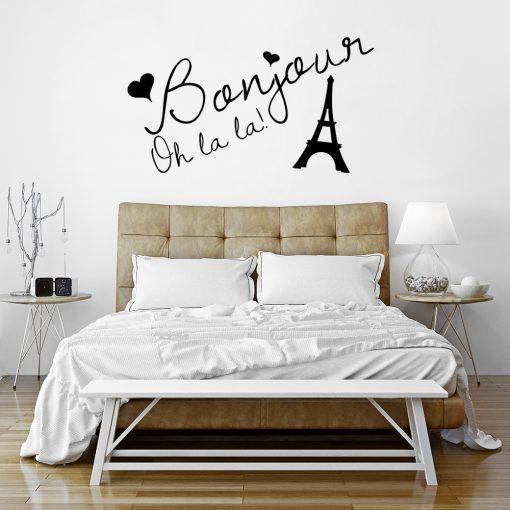 Naklejka na ścianę Paryż