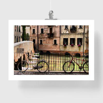 plakat włoskie miasteczko