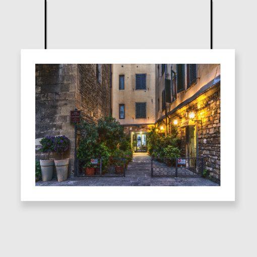motyw Włoszech na plakacie