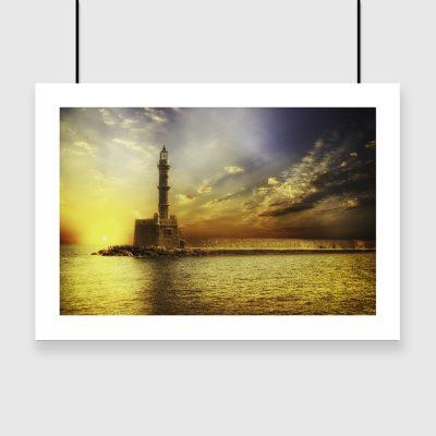 motyw morza na plakacie